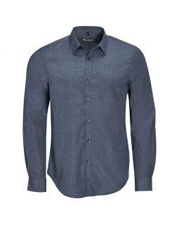 Рубашка BARNET MEN синий меланж (джинс)