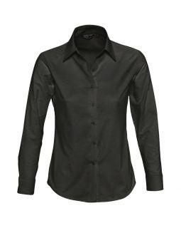 Рубашка женская с длинным рукавом EMBASSY, черная