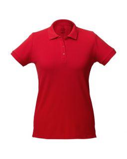 Рубашка поло женская Virma Lady, красная