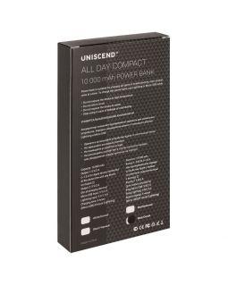 Внешний аккумулятор Uniscend All Day Compact 10000 мAч, белый