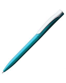 Ручка шариковая Pin Silver, голубая