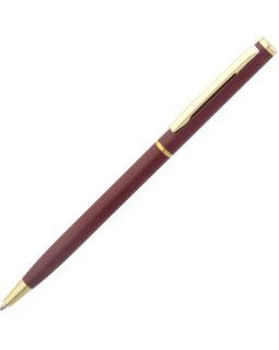 Ручка шариковая Hotel Gold, ver.2, бордовая