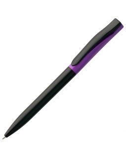 Ручка шариковая Pin Special, черно-фиолетовая