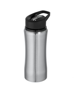Спортивная бутылка Marathon, серебристая