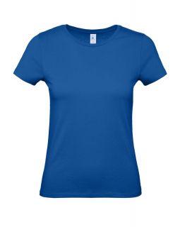 Футболка женская E150 ярко-синяя