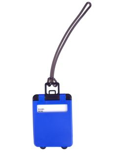 Бирка для багажа Trolley, синяя