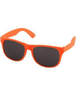 Солнцезащитные очки Retro - сплошные, неоново-оранжевый