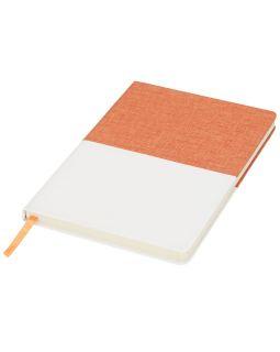 Блокнот А5 двухцветный, оранжевый
