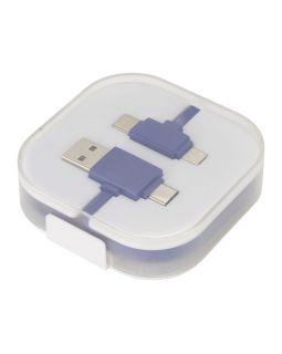 Цветной зарядный кабель, ярко-синий