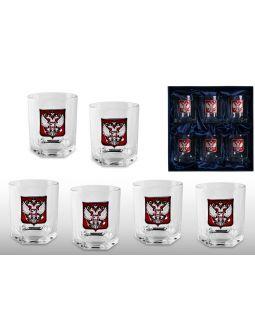 Набор стаканов для виски Российский стиль