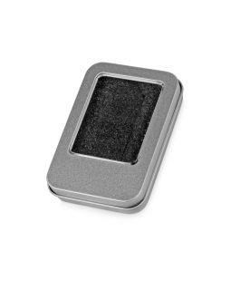 Коробка для флеш-карт Этан в шубере, серебристый