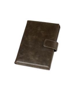 Бумажник путешественника Druid с отделением для паспорта, коричневый