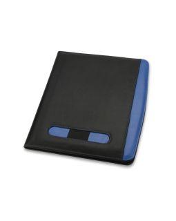 Папка для документов Guidon, черный/синий