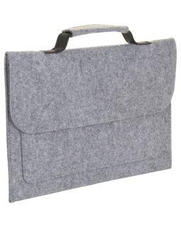 Сумка для ноутбука BRIXTON, серый меланж