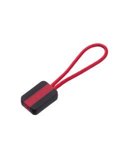 Пуллер для молнии, красный