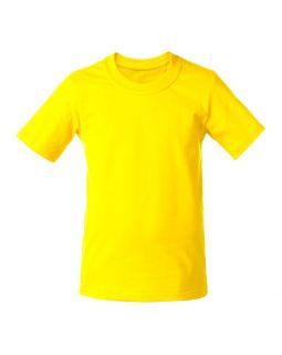 Футболка детская T-Bolka Kids, желтая