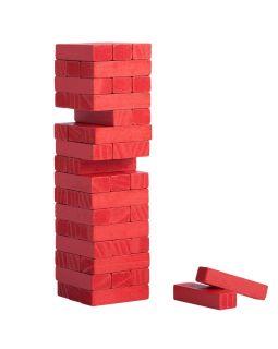 Игра «Деревянная башня мини», красная