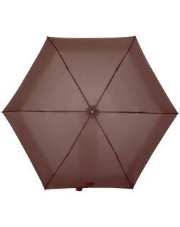 Зонт складной Minipli Colori S, коричневый