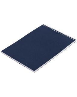 Блокнот Nettuno в клетку, синий