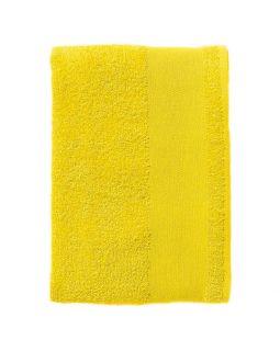 Полотенце махровое Island Small, лимонно-желтое