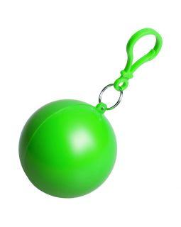 Дождевик в круглом футляре NIMBUS, зеленое яблоко