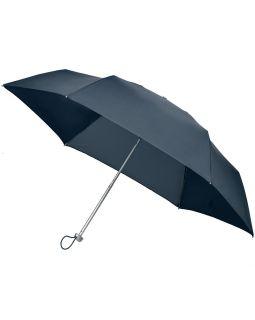 Складной зонт Alu Drop S, 3 сложения, механический, синий