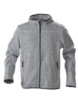 Куртка флисовая мужская RICHMOND, серый меланж