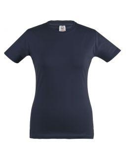 Футболка женская Unit Stretch 190 темно-синяя