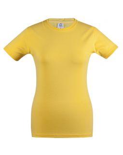 Футболка женская Unit Stretch 190 желтая