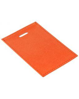 Чехол для пропуска Twill, оранжевый