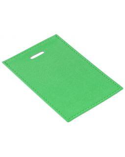 Чехол для пропуска Twill, зеленый