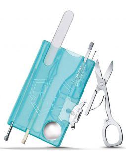 Набор инструментов SwissCard Nailcare, голубой