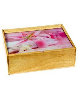 Деревянная шкатулка Bath Accessories