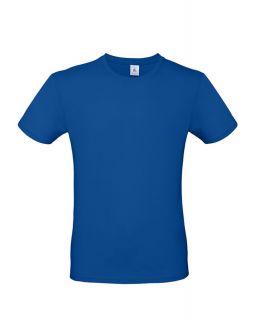 Футболка E150 ярко-синяя
