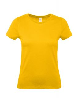 Футболка женская E150 желтая