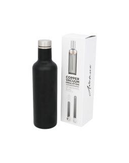 Pinto вакуумная изолированная бутылка, черный