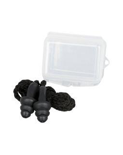 Многоразовые шумоподавляющие беруши в футляре, черный