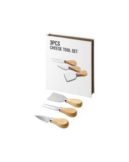 Подарочный набор для сыра Nantes из 3 предметов, дерево