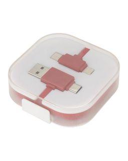 Цветной зарядный кабель, красный