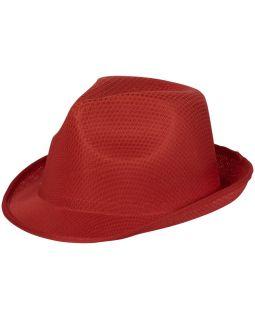 Шляпа Trilby, красный