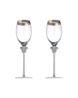 Набор бокалов для шампанского  Versace Medusa