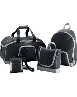 Набор сумок Странник 4-в-1, черный серый