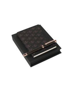 Набор: блокнот A6, ручка роллер. Christian Lacroix