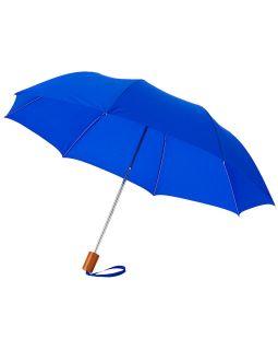 Зонт Oho двухсекционный 20, ярко-синий
