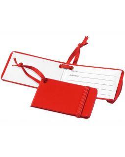 Багажная бирка Tripz, красный