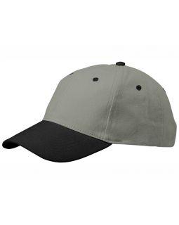 Бейсболка Grip, серый/черный