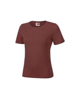 Футболка Heavy Super Club женская, бордовый портвейн