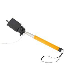 Монопод проводной Wire Selfie, оранжевый