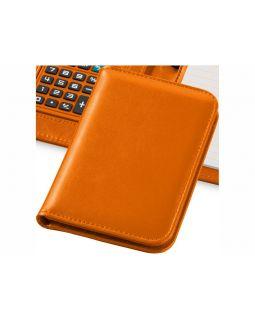 Блокнот А6 Smarti с калькулятором, оранжевый