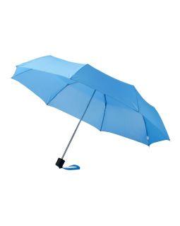 Зонт Ida трехсекционный 21,5, голубой